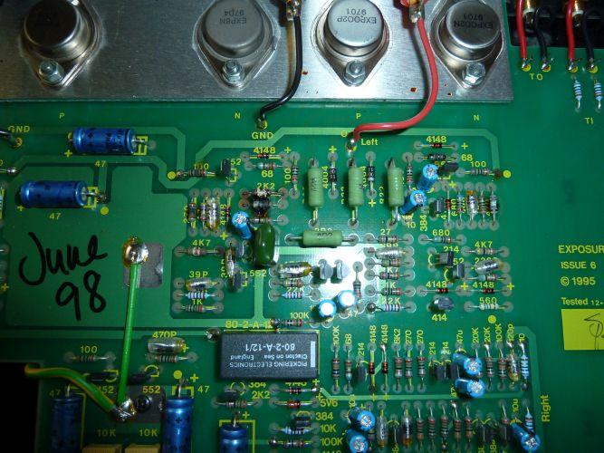 Tube Power Amplifier 3w With 6bx7 Circuit