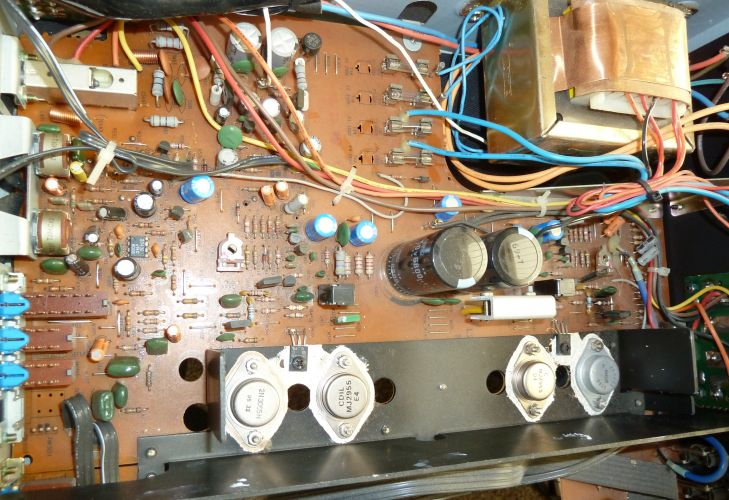 Nad on Bose Stereo Amplifier