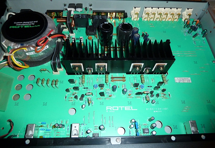 Rotel Amplifier Repairs