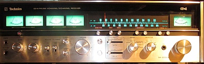 Technics SA-8000X CD-4 Amplifier
