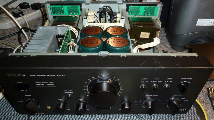 Technics Amplifier Repairs
